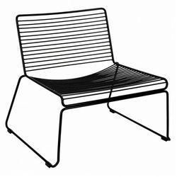 Loftowy fotel czarny - Stratos