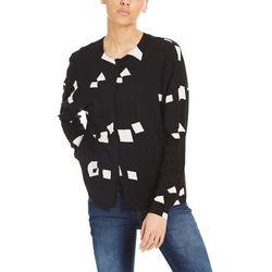 BENCH - Woven Mix Shirt Simple Graphic Black Beauty + (P1087) rozmiar: S