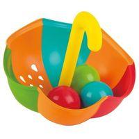 Zabawki do kąpieli, Hape Zabawka do wody kolorowy parasol z piłeczkami E0206