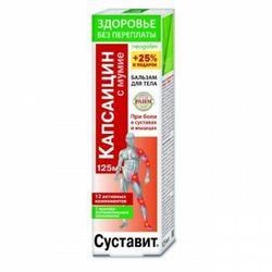 Żel-balsam na stawy i mięśnie Sustawit kapsaicyna i mumio 125 ml