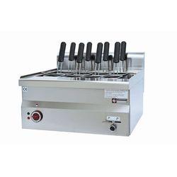 Urządzenie elektryczne do makaronu nastolne | zbiornik 30L | 9000W | 600x600x(H)280/400m