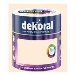 Farba Lateksowa Akrylit W Kolor Brzoskwiniowy Pastelowy 2.5l Dekoral