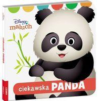 Książki dla dzieci, Disney Maluch Ciekawska panda (opr. twarda)