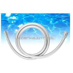 OMNIRES SILVER X Wąż prysznicowy 125cm, srebrny