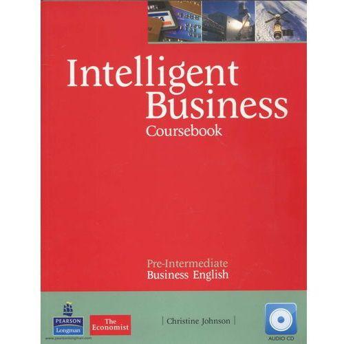 Książki do nauki języka, Intelligent Business Pre-Intermediate Coursebook (podręcznik) + Style Guide (opr. miękka)