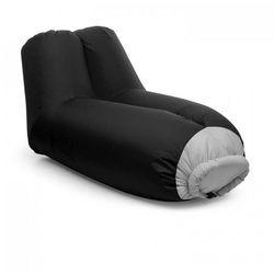 Blumfeldt Airlounge sofa dmuchana 90x80x150cm plecak do prania poliester czarna