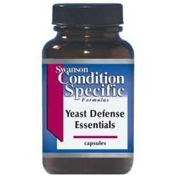 Swanson Yeast Defense Essentials (Candida) 120 kaps.