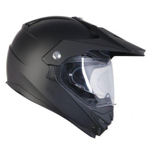Kaski motocyklowe, KASK OZONE CROSS MXT-01 PINLOCK READY BLACK MATT