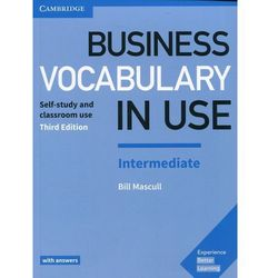 Business Vocabulary in Use Intermediate with answers - Bill Mascull (opr. miękka)