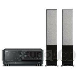 Yamaha MusicCast RX-V4A (czarny), Elac Debut Reference DFR52 (czarny/orzech)