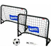 Piłka nożna, Mini bramki BestSporting piłkarskie Goaly piłka pompka 2szt