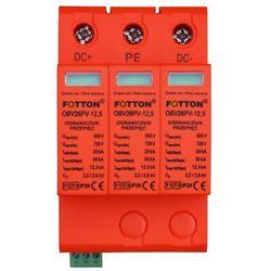 Ogranicznik przepięć FOTTON OBV26PV-12,5 kl. I,II (B+C) 720V DC Ogranicznik przepięć DC FOTTON OBV26PV-12,5 kl. I,II (B+C) 720V DC do systemow fotowoltaicznych
