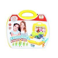 Kuchnie dla dzieci, Kuchnia w walizce z akcesoriami 393473 - MEGA CREATIVE