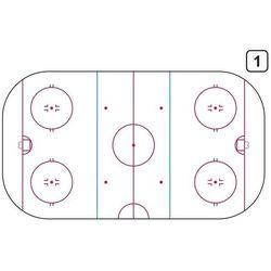 tablica trenerska taktyczna suchościeralna 186 hokej