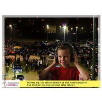 Pozostałe bezpieczeństwo w domu, Słuchawki ochronne nauszniki dla dzieci od ok 2lat - czerń