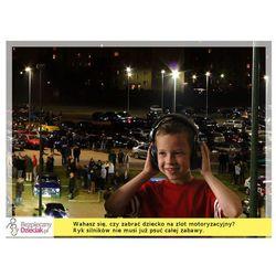 Słuchawki ochronne nauszniki dla dzieci od ok 2lat - czerń