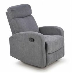 Fotel rozkładany Bover 2X - popielaty