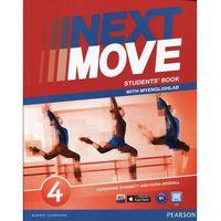 Książki do nauki języka, Next move 4 Studrnt's Book + MyEnglishLab - wyślemy dzisiaj, tylko u nas taki wybór !!! (opr. miękka)