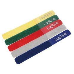 LogiLink Opaska kablowa LogiLink KAB0008 (180mm /20mm 5sz
