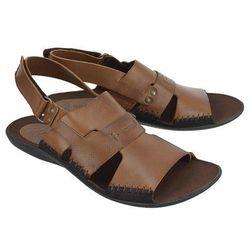 NIK 06-0347-01-7-04-03 rudy, sandały męskie - Brązowy