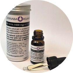 Destylowany olej pełne spektrum 10% CBD (1000 mg) w oleju MCT 10 ml