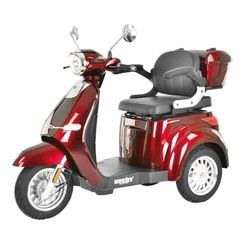 HECHT CITIS MAX RED WÓZEK SKUTER ELEKTRYCZNY INWALIDZKI DLA SENIORA AKUMULATOROWY E-SKUTER MOTOR - OFICJALNY DYSTRYBUTOR-AUTORYZOWANY DEALER HECHT promocja (--25%)