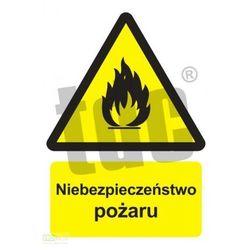 Niebezpieczeństwo pożaru - materiały łatwopalne Art. BC001