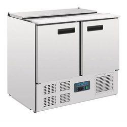 Stół chłodniczy sałatkowy 2-drzwiowy | 240L | 2 do 8°C | 900x700x(H)885mm