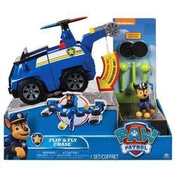 Psi Patrol, Flip and Fly Pojazd z figurka, Chase - DARMOWA DOSTAWA OD 199 ZŁ!!!