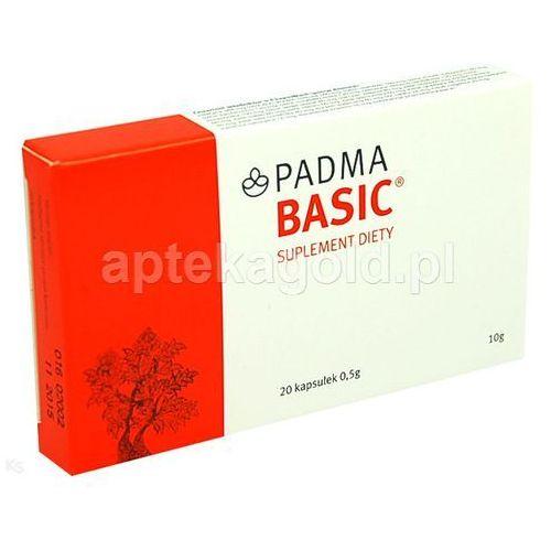 Pozostałe leki na układ krążenia, Padma basic x 20 kaps