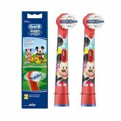 Oral B Stages Power EB10 Mickey Mouse końcówki wymienne do szczoteczki do zębów extra soft (For Boys) 2 szt.
