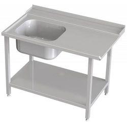 Stół załadowczy ze zlewem | szer. 1000 - 1600mm | różne wymiary