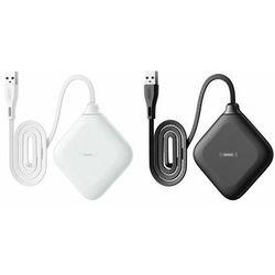 Remax bezprzewodowa ładowarka Qi 5 W do telefonu i słuchawek biały (RP-W14 white)