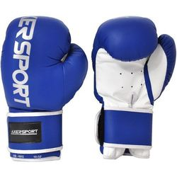 Rękawice bokserskie AXER SPORT A1330 Niebiesko-Biały (10 oz) + Zamów z DOSTAWĄ W PONIEDZIAŁEK!