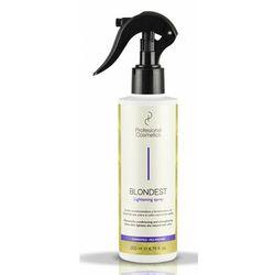 Profesional Cosmetics BLONDEST LIGHTENING SPRAY Spray rozjaśniający do włosów blond