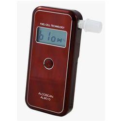 AL-9010 Alkomat cyfrowy elektrochemiczny z pomiarem do 5 promili + 100 ustników GRATIS