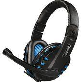 Słuchawki Q-SMART QSHPS004 PS4 Czarno-niebieski