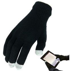 Highlander Rękawiczki do Ekranów Dotykowych Touch Screen Czarne