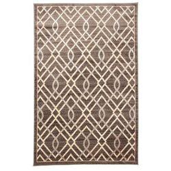 Chodnik dywanowy PACYFIK brązowy 80 x 150 cm