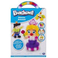 Kreatywne dla dzieci, BUNCHEMS Kolorowe rzepy świecące - Księżniczka - Bunchems