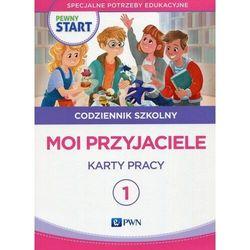 Pewny start Codziennik szkolny 1 Moi przyjaciele Karty pracy (opr. broszurowa)