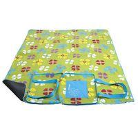 Koce i pledy, Spokey PICNIC FLOWERS - Koc piknikowy; 150x180 cm
