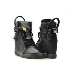 Sneakersy Chebello 532 J.Grafitowe lico