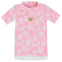 Steiff Girls Bluzka z ochrona UV Kwiatki carmin rosé