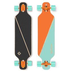 "Longboard Street Surfing Freeride - Nordic Orange 39"", ABEC 9"