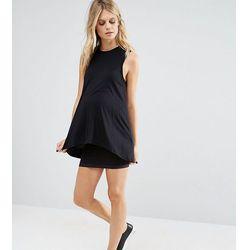 Mamalicious Seamless Tube Mini Skirt - Black