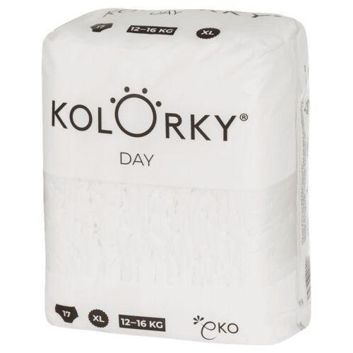 Pozostałe pieluchy, KOLORKY jednorazowe pieluchy ekologiczne DAY NATURE - XL (12 - 16 kg), 17 szt.