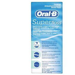 ORAL B nić dentystyczna SUPER FLOSS 50 odcinków