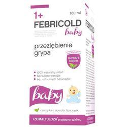FEBRICOLD baby syrop na przeziębienie, kaszel i gorączkę u dzieci 100ml