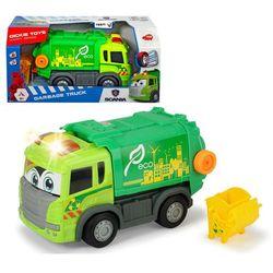 Dickie Zielona śmieciarka SCANIA z napędem i dźwiękiem 381 6001